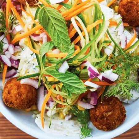 Bio Catering Bistro Restaurant Safran Salat Falafel